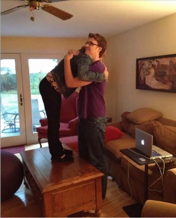 Άβολες καταστάσεις για ψηλούς ανθρώπους (4)