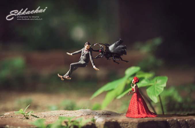 Φωτογράφος γάμων μετατρέπει τα ζευγάρια σε μινιατούρες (14)