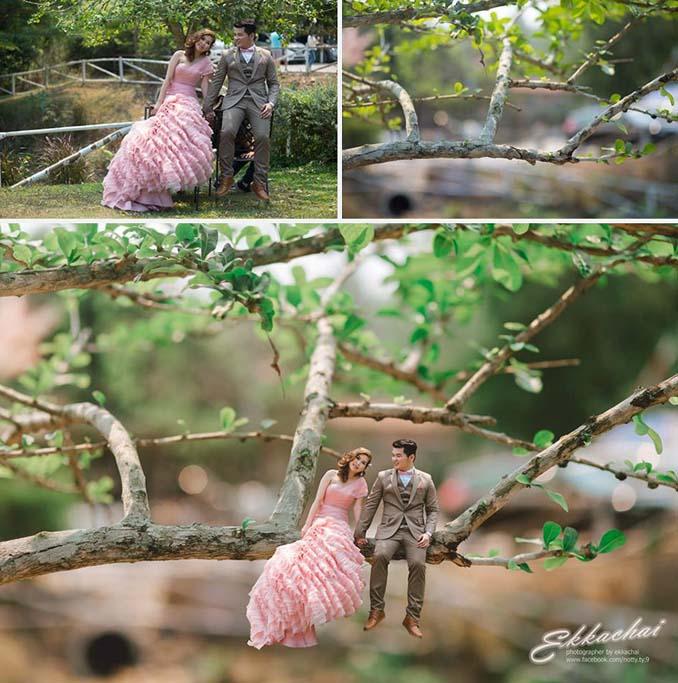 Φωτογράφος γάμων μετατρέπει τα ζευγάρια σε μινιατούρες (19)