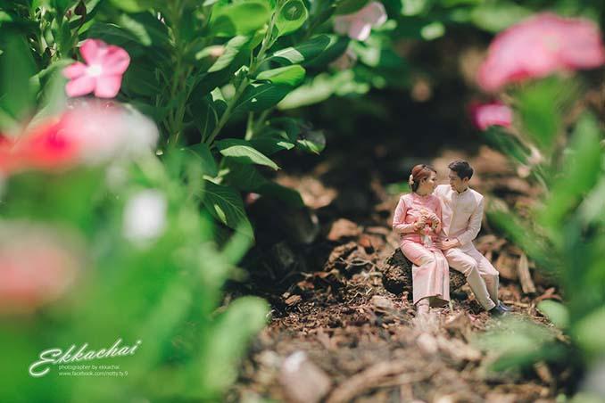 Φωτογράφος γάμων μετατρέπει τα ζευγάρια σε μινιατούρες (20)