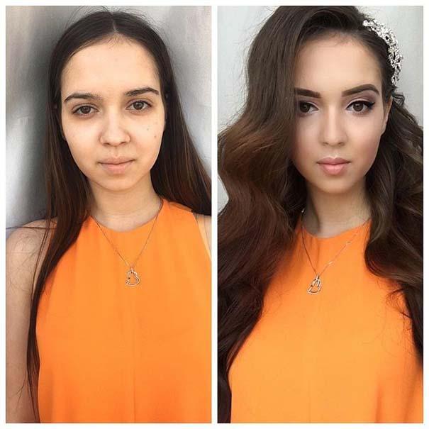 Γυναίκες με / χωρίς μακιγιάζ #20 (9)