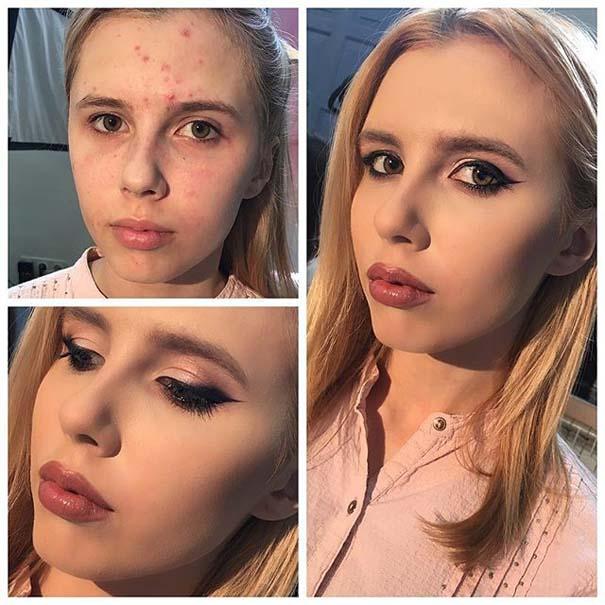 Γυναίκες με / χωρίς μακιγιάζ #20 (10)