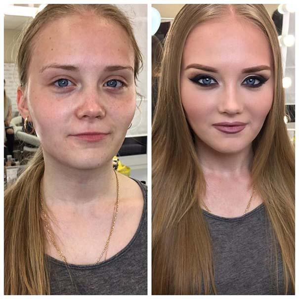 Γυναίκες με / χωρίς μακιγιάζ #20 (12)