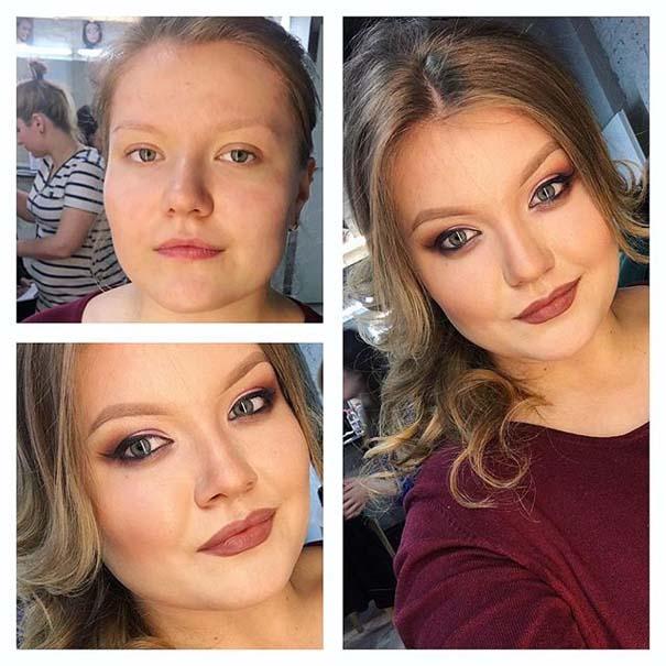 Γυναίκες με / χωρίς μακιγιάζ #20 (13)