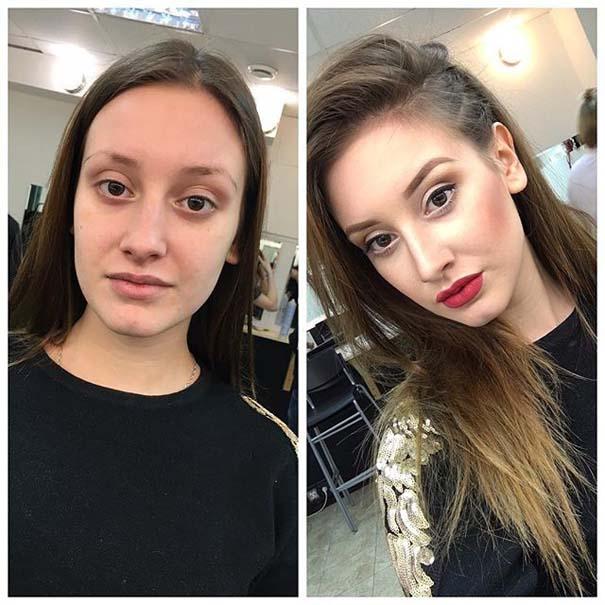 Γυναίκες με / χωρίς μακιγιάζ #20 (15)