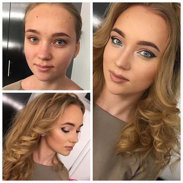 Γυναίκες με / χωρίς μακιγιάζ #20 (18)