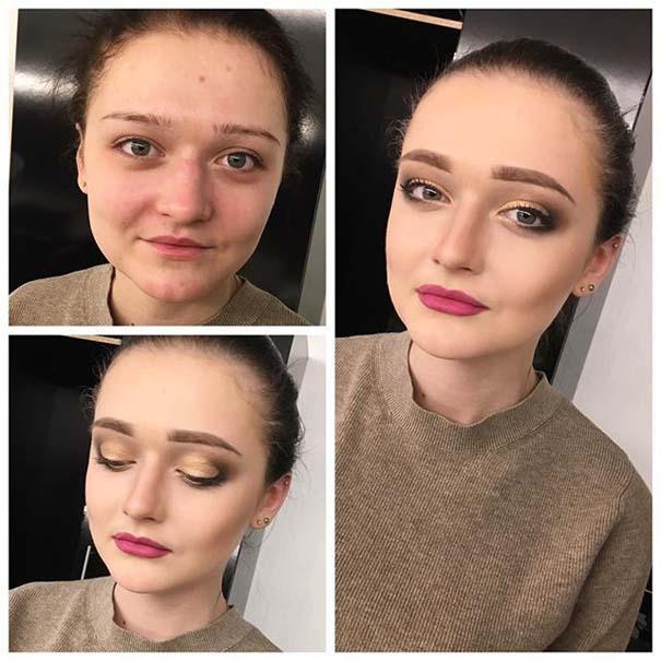 Γυναίκες με / χωρίς μακιγιάζ #20 (19)