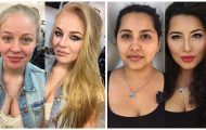 Γυναίκες με / χωρίς μακιγιάζ #20 (1)