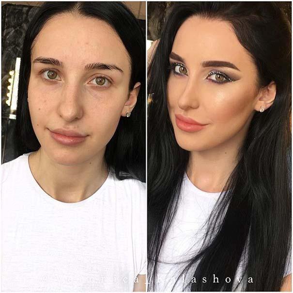 Γυναίκες με / χωρίς μακιγιάζ #20 (4)