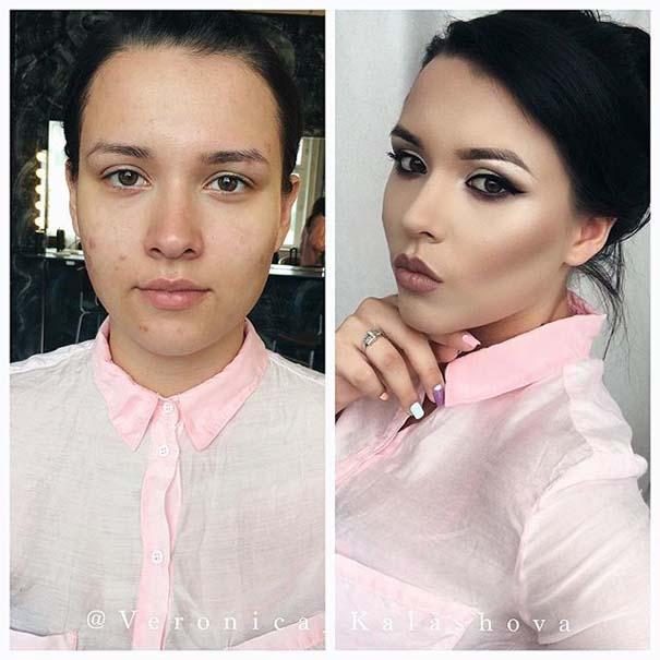 Γυναίκες με / χωρίς μακιγιάζ #20 (5)