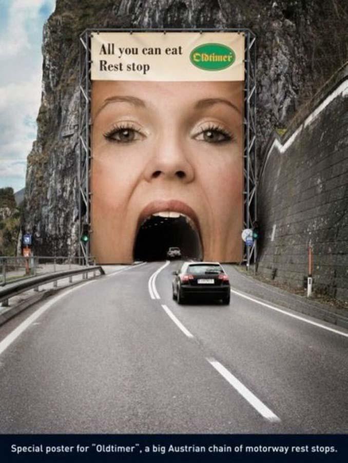 Ιδιοφυείς διαφημίσεις που καταφέρνουν να τραβήξουν όλα τα βλέμματα (4)