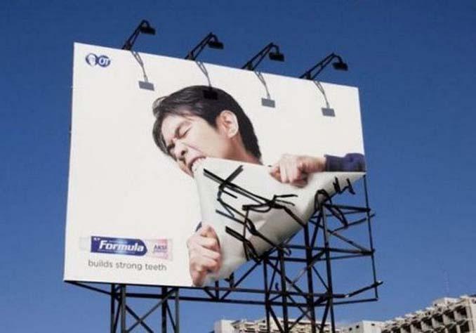 Ιδιοφυείς διαφημίσεις που καταφέρνουν να τραβήξουν όλα τα βλέμματα (5)