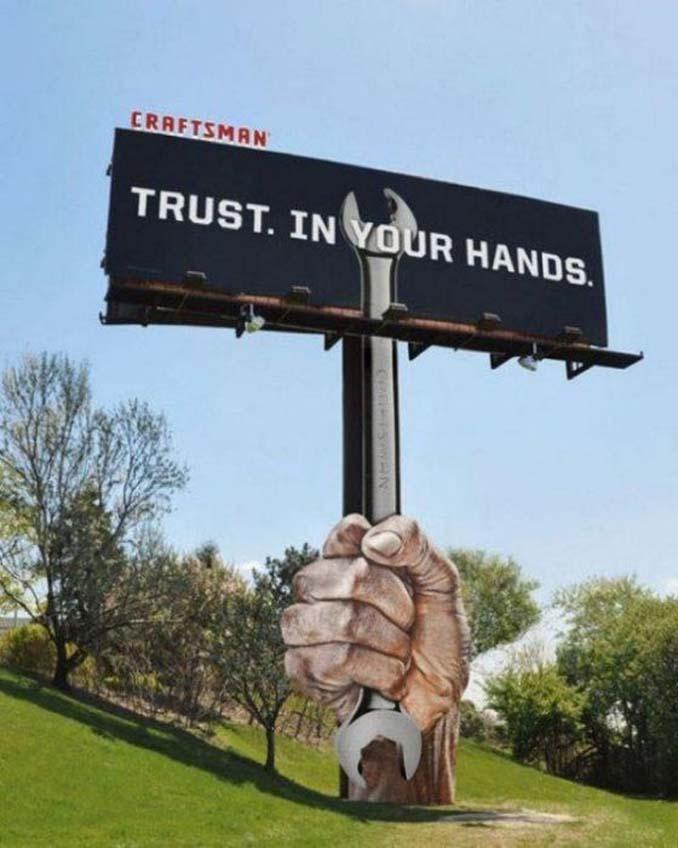Ιδιοφυείς διαφημίσεις που καταφέρνουν να τραβήξουν όλα τα βλέμματα (9)