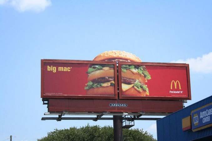 Ιδιοφυείς διαφημίσεις που καταφέρνουν να τραβήξουν όλα τα βλέμματα (12)
