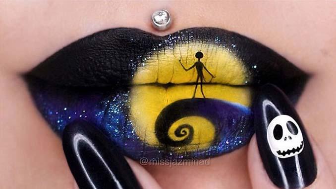 Καλλιτέχνις μετατρέπει τα χείλη της σε καμβά για απίστευτα έργα τέχνης (2)
