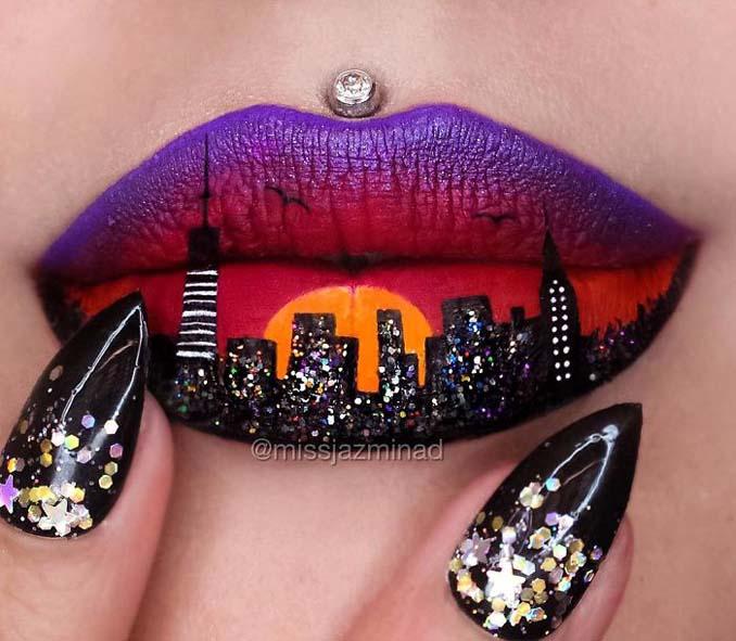 Καλλιτέχνις μετατρέπει τα χείλη της σε καμβά για απίστευτα έργα τέχνης (3)