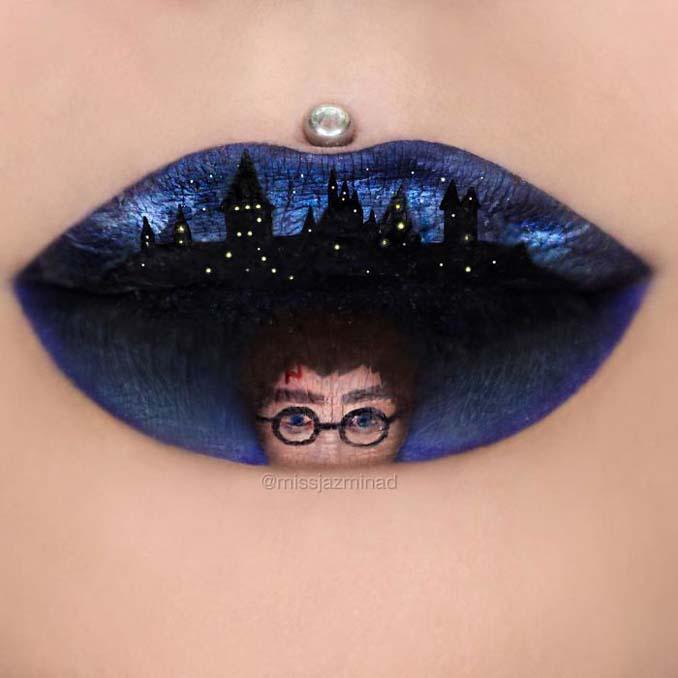 Καλλιτέχνις μετατρέπει τα χείλη της σε καμβά για απίστευτα έργα τέχνης (10)