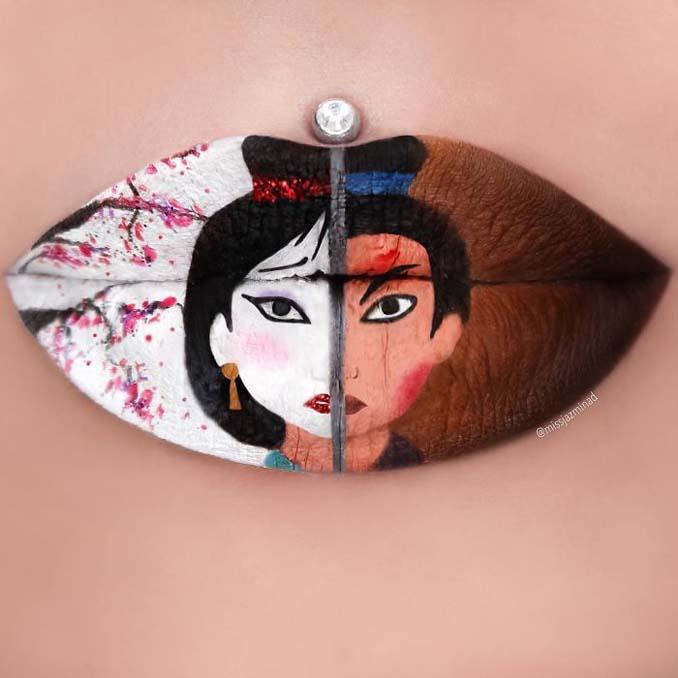 Καλλιτέχνις μετατρέπει τα χείλη της σε καμβά για απίστευτα έργα τέχνης (13)