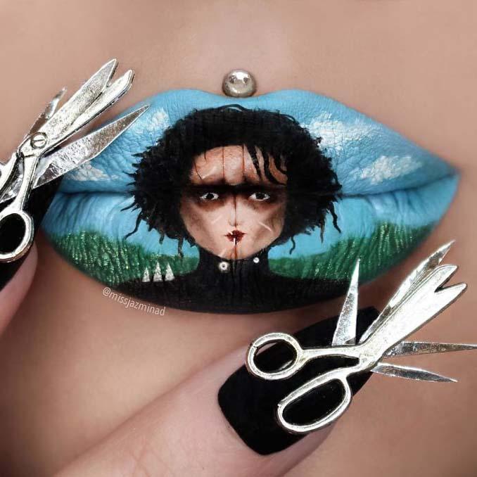 Καλλιτέχνις μετατρέπει τα χείλη της σε καμβά για απίστευτα έργα τέχνης (16)
