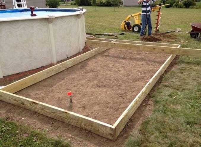 Κατασκευάζοντας μια πλατφόρμα για υπερυψωμένη πισίνα (1)