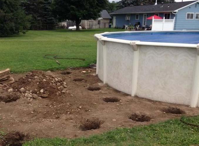 Κατασκευάζοντας μια πλατφόρμα για υπερυψωμένη πισίνα (3)