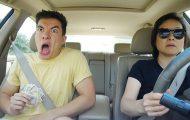 Ξεκαρδιστικά χορευτικά με την μαμά στο αυτοκίνητο