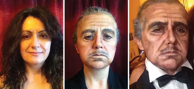 Makeup artist μεταμορφώνεται σε όποιο διάσημο πρόσωπο επιθυμεί (4)