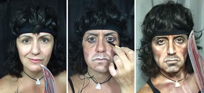 Makeup artist μεταμορφώνεται σε όποιο διάσημο πρόσωπο επιθυμεί (5)