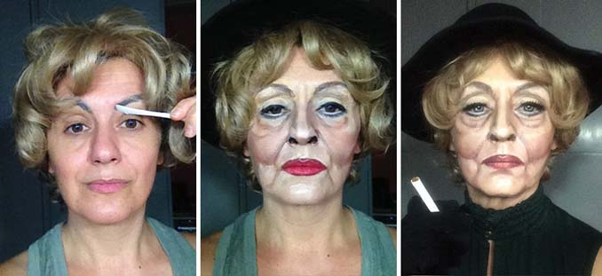 Makeup artist μεταμορφώνεται σε όποιο διάσημο πρόσωπο επιθυμεί (8)