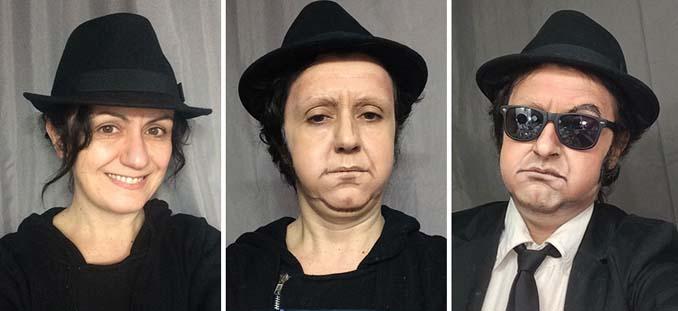 Makeup artist μεταμορφώνεται σε όποιο διάσημο πρόσωπο επιθυμεί (11)