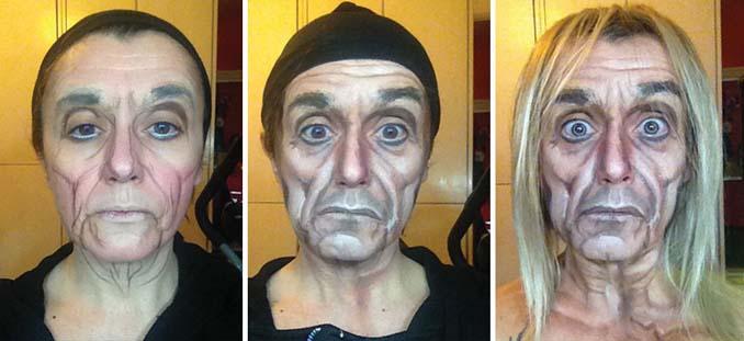 Makeup artist μεταμορφώνεται σε όποιο διάσημο πρόσωπο επιθυμεί (12)