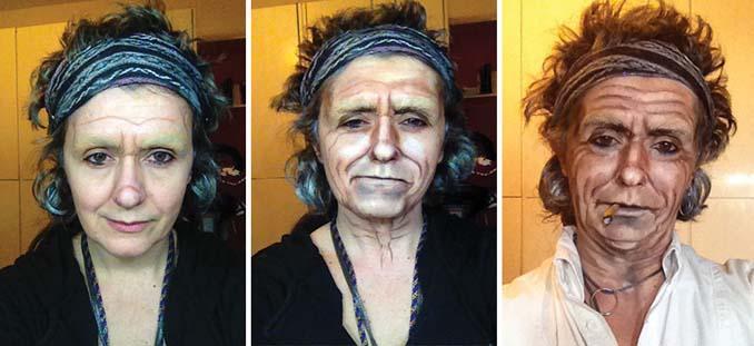 Makeup artist μεταμορφώνεται σε όποιο διάσημο πρόσωπο επιθυμεί (13)