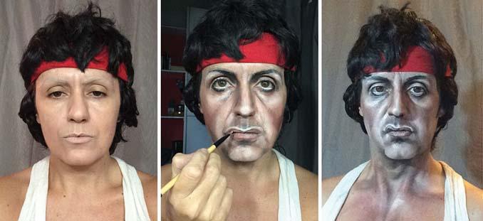 Makeup artist μεταμορφώνεται σε όποιο διάσημο πρόσωπο επιθυμεί (14)