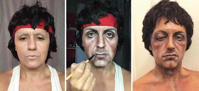 Makeup artist μεταμορφώνεται σε όποιο διάσημο πρόσωπο επιθυμεί (15)
