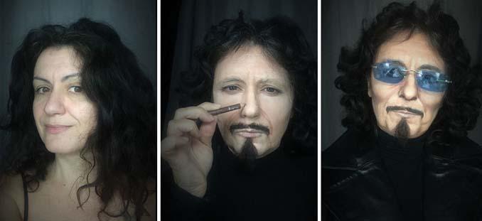 Makeup artist μεταμορφώνεται σε όποιο διάσημο πρόσωπο επιθυμεί (16)