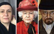Makeup artist μεταμορφώνεται σε όποιο διάσημο πρόσωπο επιθυμεί (18)