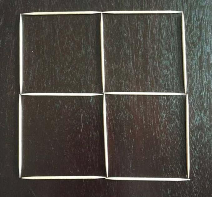 Μπορείτε να λύσετε αυτή τη σπαζοκεφαλιά με τις οδοντογλυφίδες; (1)