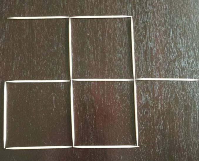 Μπορείτε να λύσετε αυτή τη σπαζοκεφαλιά με τις οδοντογλυφίδες; (2)