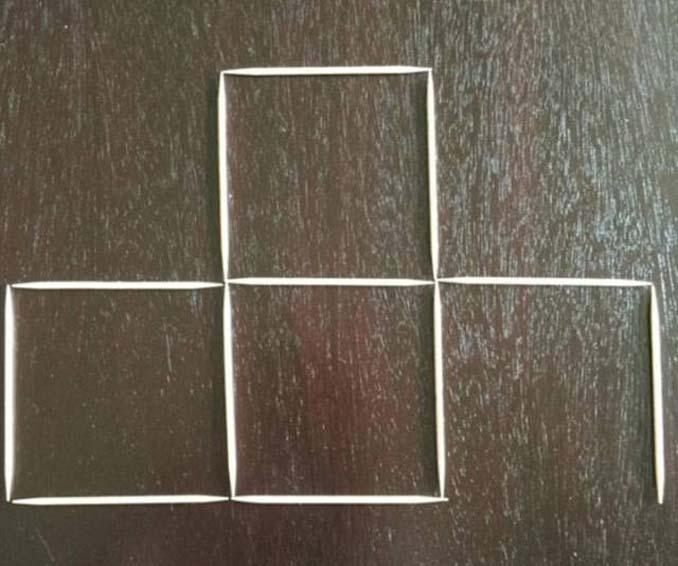 Μπορείτε να λύσετε αυτή τη σπαζοκεφαλιά με τις οδοντογλυφίδες; (3)
