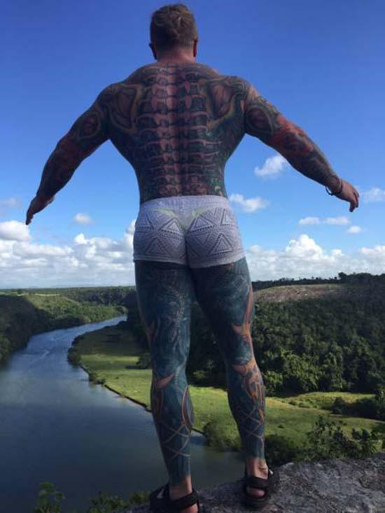 Ο πιο εκκεντρικός bodybuilder της Ρωσίας (10)