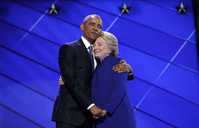 Obama & Clinton αγκαλιάστηκαν και οι χρήστες του Photoshop έδωσαν ρεσιτάλ (1)