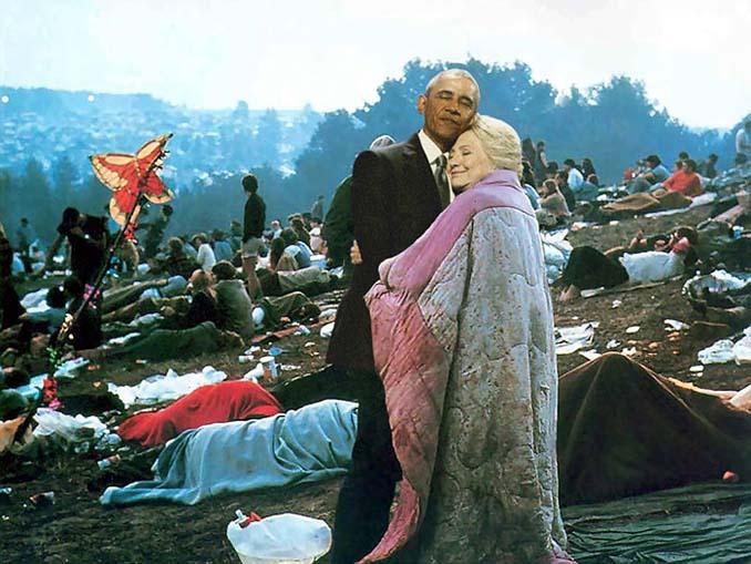 Obama & Clinton αγκαλιάστηκαν και οι χρήστες του Photoshop έδωσαν ρεσιτάλ (6)