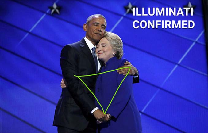Obama & Clinton αγκαλιάστηκαν και οι χρήστες του Photoshop έδωσαν ρεσιτάλ (7)