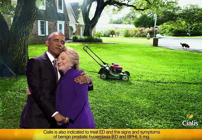 Obama & Clinton αγκαλιάστηκαν και οι χρήστες του Photoshop έδωσαν ρεσιτάλ (10)