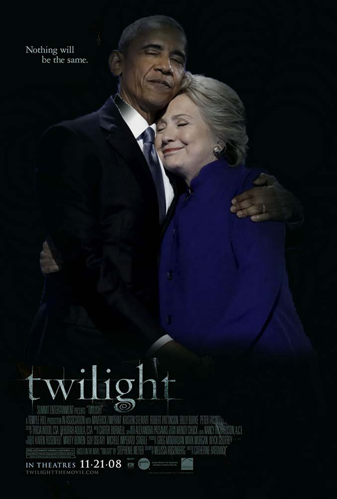 Obama & Clinton αγκαλιάστηκαν και οι χρήστες του Photoshop έδωσαν ρεσιτάλ (12)