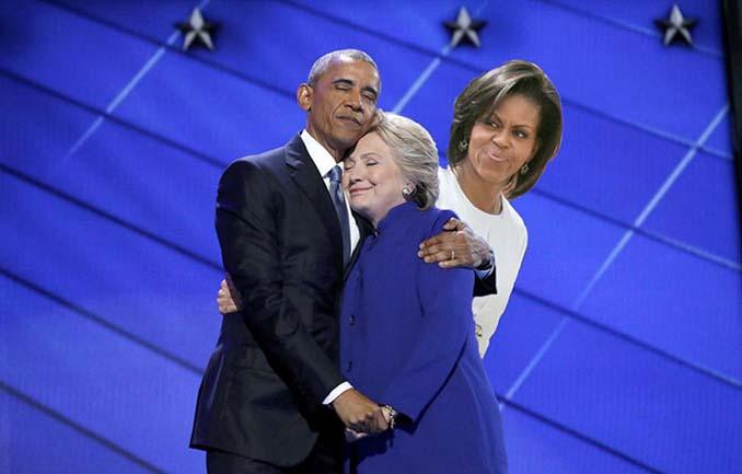 Obama & Clinton αγκαλιάστηκαν και οι χρήστες του Photoshop έδωσαν ρεσιτάλ (13)