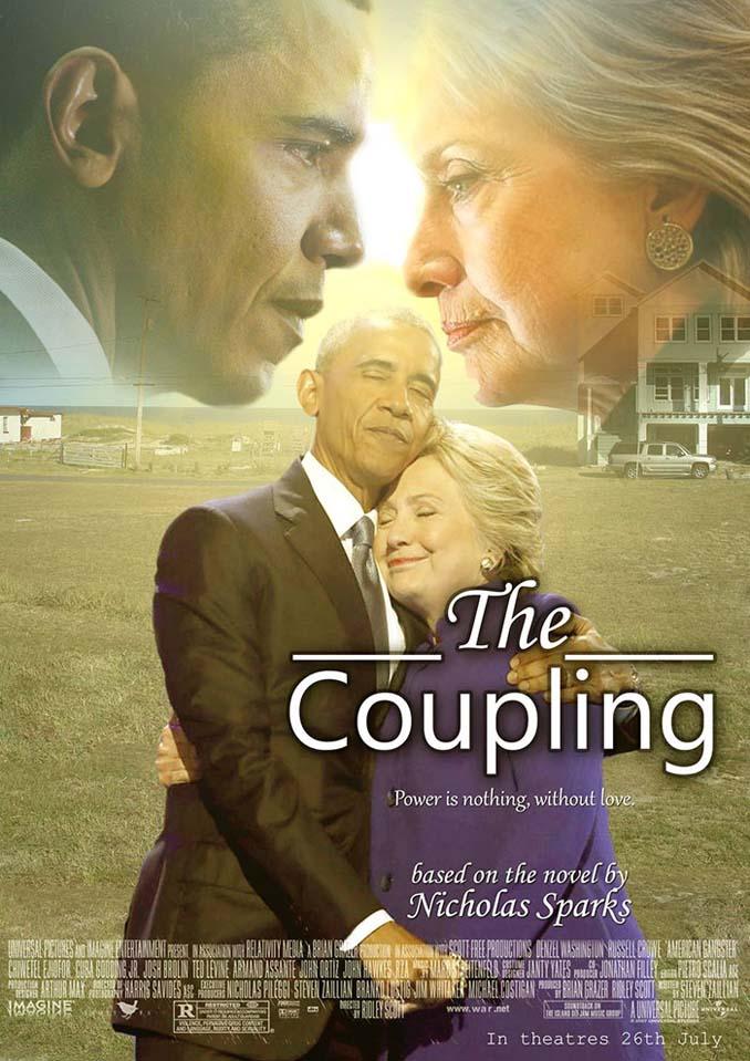 Obama & Clinton αγκαλιάστηκαν και οι χρήστες του Photoshop έδωσαν ρεσιτάλ (15)