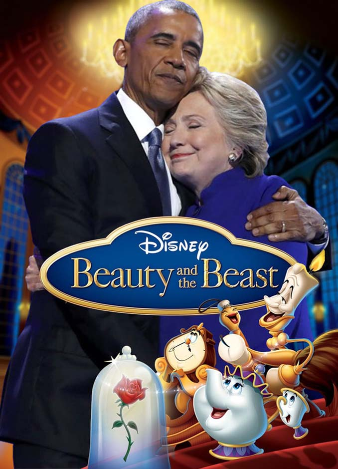 Obama & Clinton αγκαλιάστηκαν και οι χρήστες του Photoshop έδωσαν ρεσιτάλ (17)