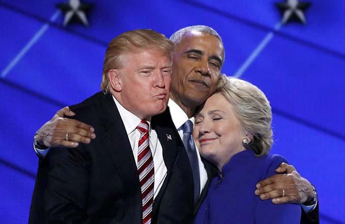 Obama & Clinton αγκαλιάστηκαν και οι χρήστες του Photoshop έδωσαν ρεσιτάλ (21)