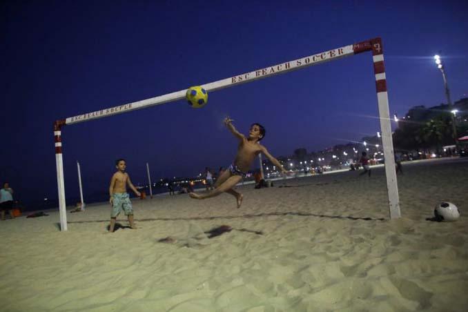 Οι παραλίες του Ρίο Ντε Τζανέιρο λίγες μέρες πριν τους Ολυμπιακούς Αγώνες (1)